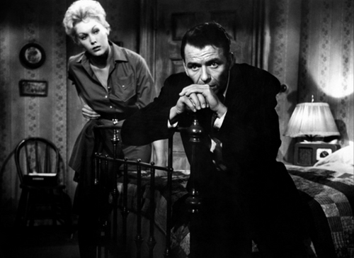 L'homme au bras d'or, The man with golden arm, Otto Preminger, 1955