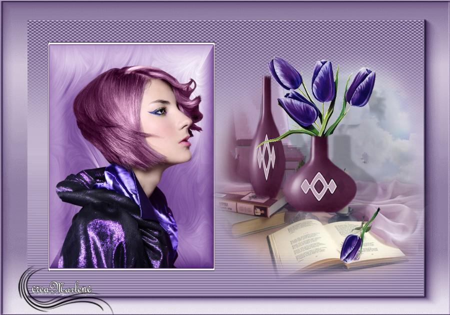 ♥ Les tulipes mauves ♥