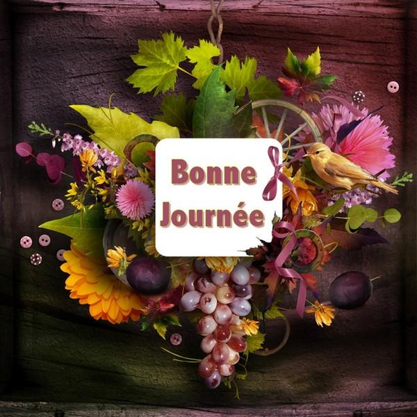 BONNE  JOURNEE