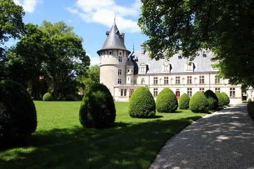 La fête des jardins au château de Montigny sur Aube...
