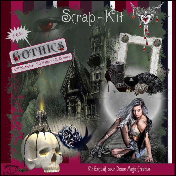 *** Gothique dans l'Atelier Scrpa Kits ***
