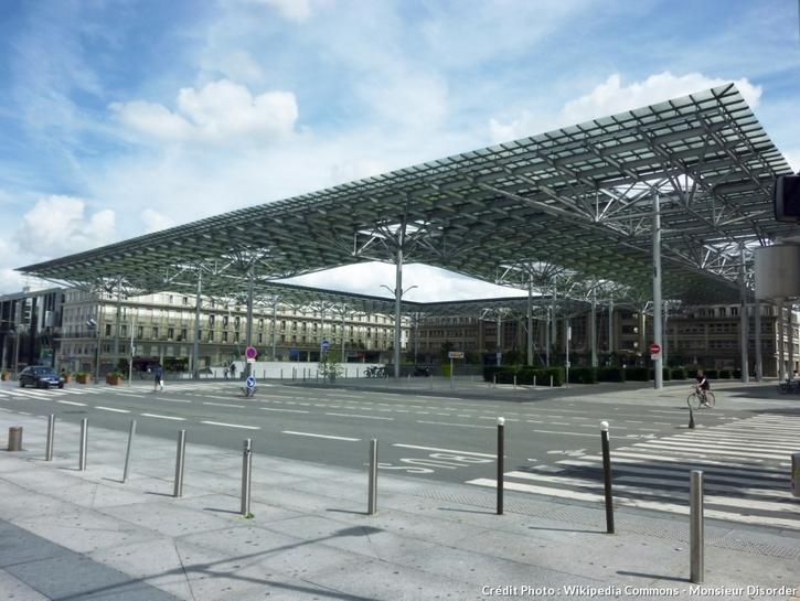 La gare d'Amiens