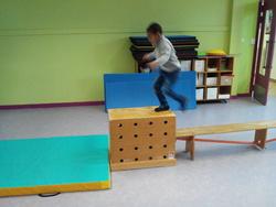 Nos parcours de gymnastique