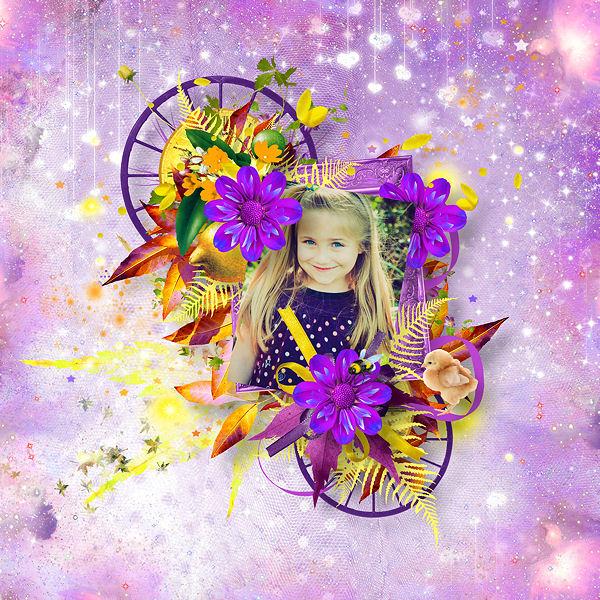 Welcome Spring by Didine Design & Saskia Designs