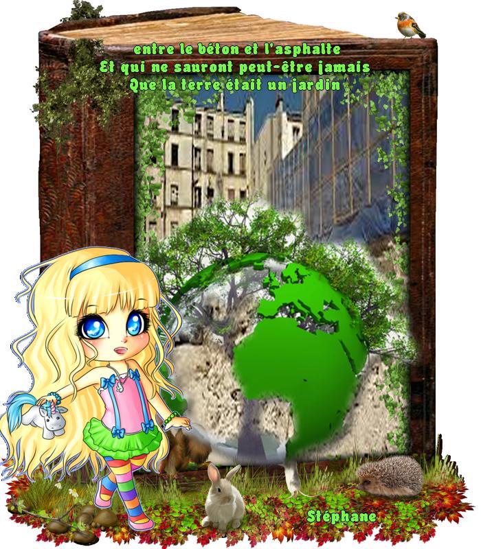 Il y a un jardin défi en partage mis par Christiane54