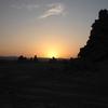 Lac Abhé Lever du soleil