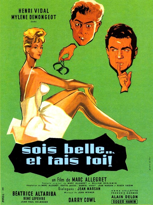 SOIS BELLE ET TAIS-TOI - JEAN PAUL BELMONDO 1958