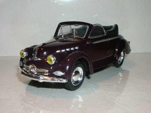 Panhard Dyna X cabriolet