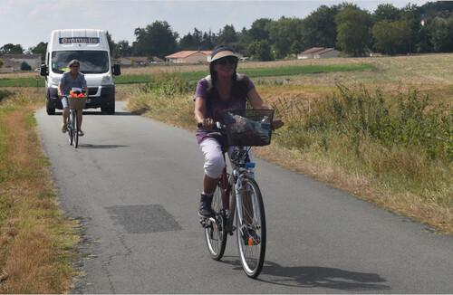 rando-vélo de la Matauderie à Naintré