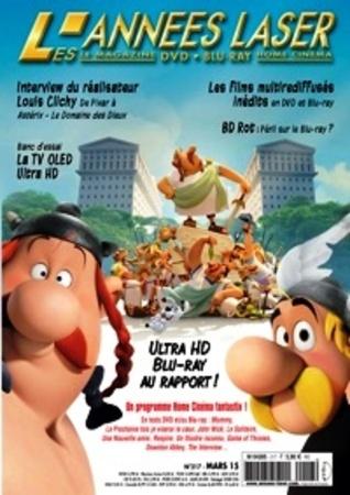 "Les années Laser N° 217 mars 2015 ""Magazine Cinéma DVD Blu-ray"""