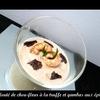 velouté chou-fleur truffe gambas