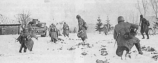 Invasion allemande en Russie