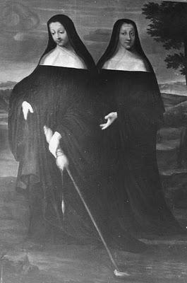Sainte Berthe, abbesse fondatrice de l'abbaye d'Avenay († v. 690)