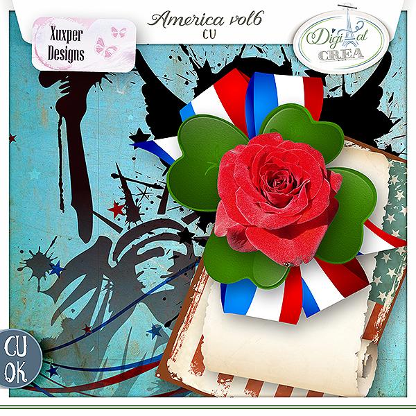 America Cu vol 6 de Xuxper Designs