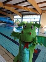 Taoki va à la piscine ...
