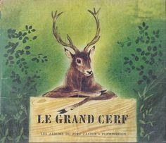 école : références: Le grand cerf et le lapin des champs (1972)