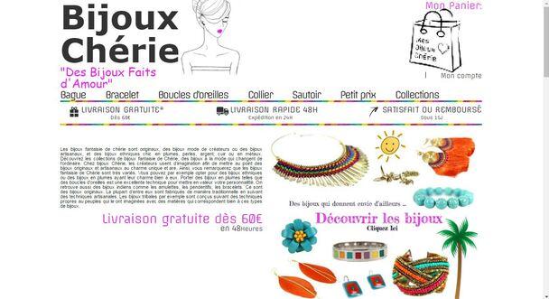 Article Neuf : Revue Chérie bijoux