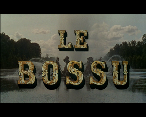 LE BOSSU - BOX OFFICE JEAN MARAIS 1960