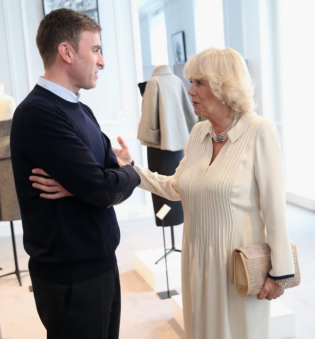 Camilla chez Dior
