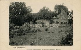 LES REMPARTS DE L'HOME-CHAMONDOT (Orne)