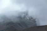 Chimborazo sous les nuages