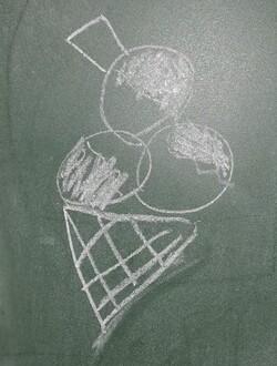 de beaux dessins faits par une de mes eleves