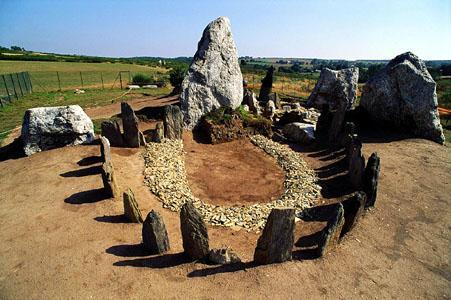 Les couloirs géomantiques de l'ancienne Europe