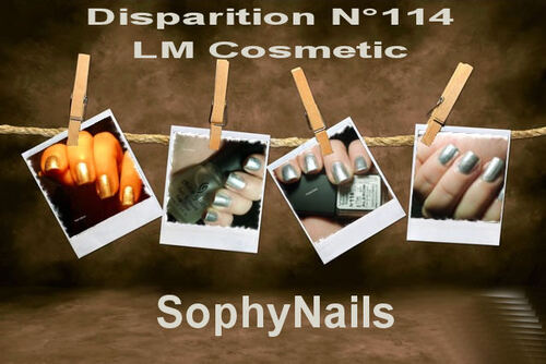 Disparition LM COSMETIC N°114