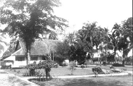La maison de Marie-Madeleine O'Connell Tây Ninh Indochine