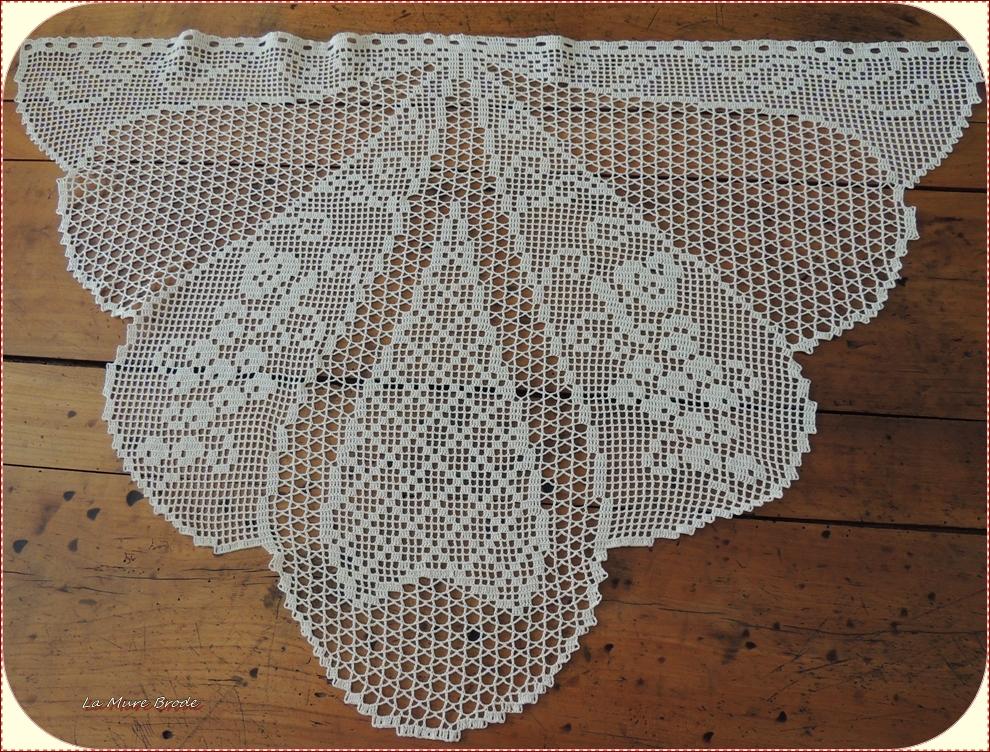 rideaux au crochet - LA MURE BRODE