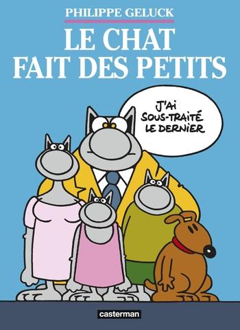 Le chat fait des petits - Philippe Geluck