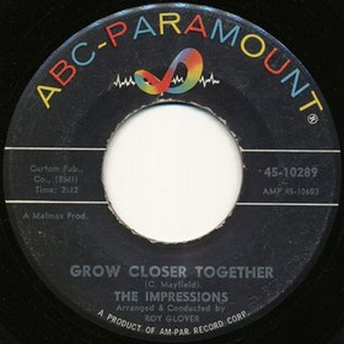 1962 : Single SP ABC Paramount 10289 [ US ]