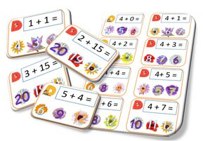 Additions des nombres de 1 à 15 !