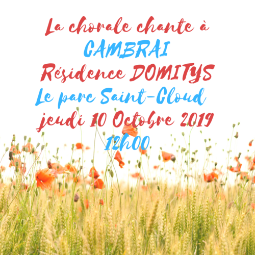DOMITYS 10 Octobre 2019