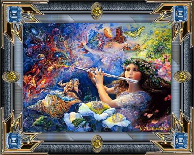 la joueuse de flute
