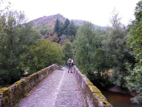 Pont romain sur le Douron Conques