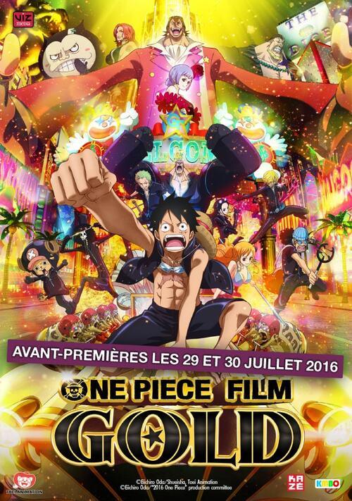 One Piece Film GOLD - Avis