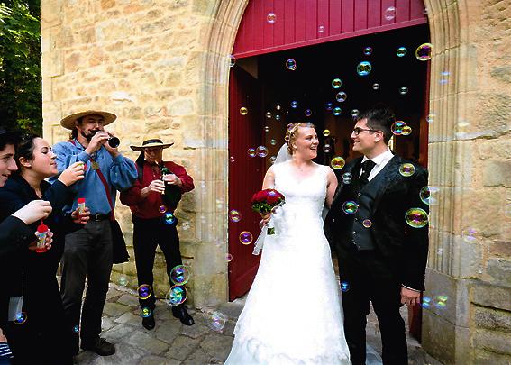 Mariage au biniou, mariage plus fou !