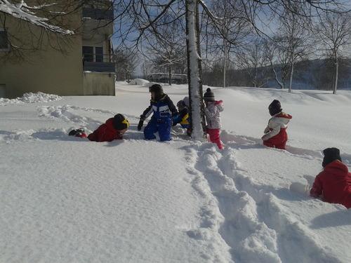 De la neige.....
