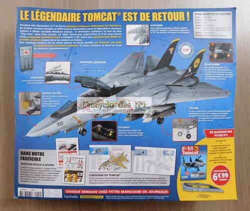 N° 1 Construisez le légendaire F-14 Tomcat - Lancement