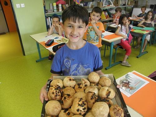 Boulangers en herbe ! (Groupe CE1)