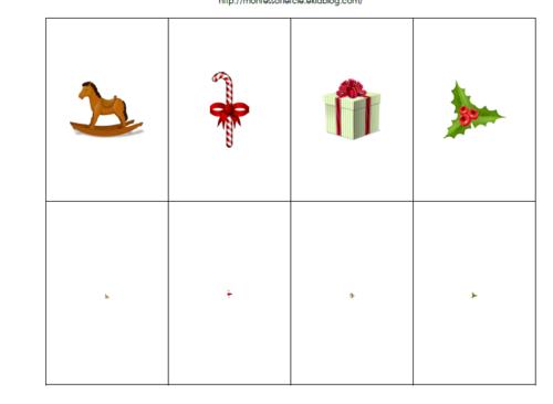 Jeu de la loupe : Noël
