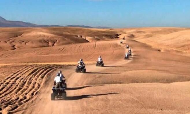 Sortie en quad ou en buggy dans le desert d'Agafay