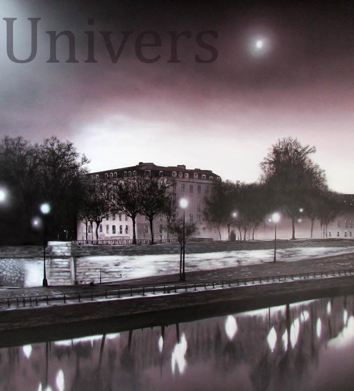 """""""Paris la nuit """" nouvelle fresque murale"""