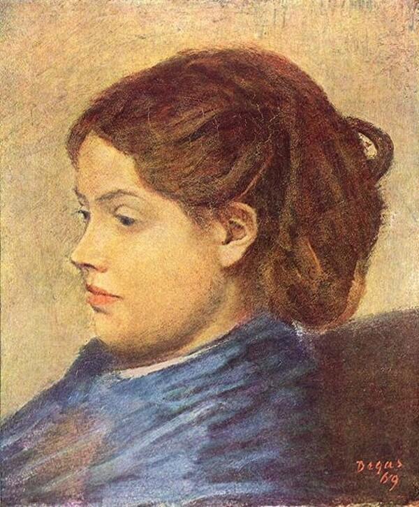 Degas 4 /         1868-1870 : l'orchestre de l'opéra