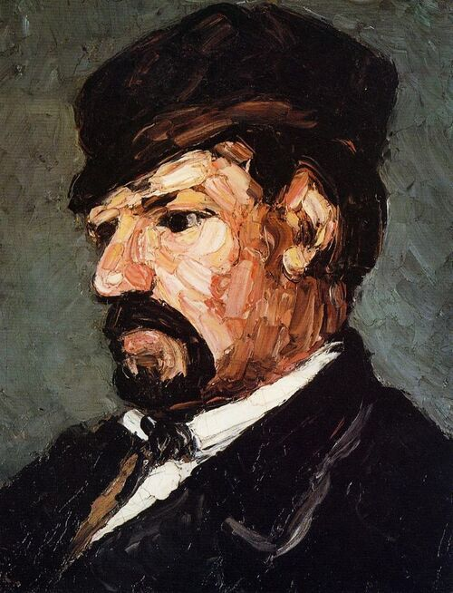 2.Cézanne / 1866 , l'année des portraits !