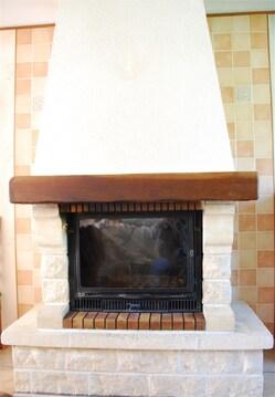 Notre nouvelle cheminée...