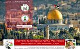 Meeting de soutien à la lutte du peuple Palestinien !