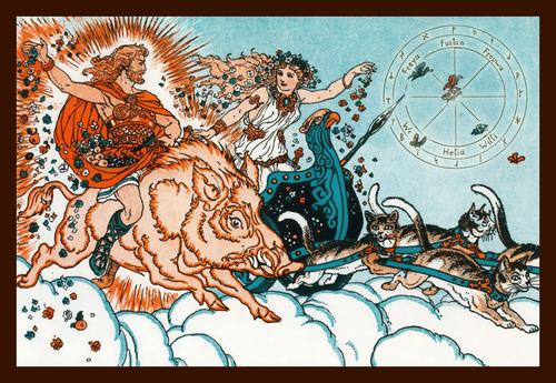 Dieux et déesses nordiques