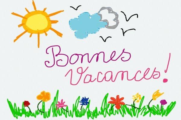 11/04/2015 - Vacances de printemps, Zone A, Académies : Caen, Clermont-Ferrand, Grenoble, Lyon, Montpellier, Nancy-Metz, Nantes, Rennes, Toulouse - Fin des cours : samedi 11 avril 2015 Reprise des cours : lundi 27 avril 2015 - BONNES VACANCES !!!,